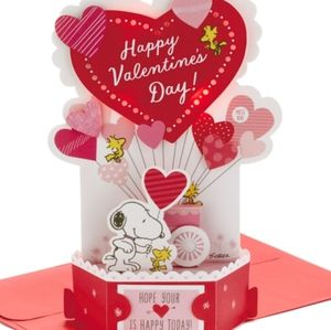 Light-up musical Valentine card